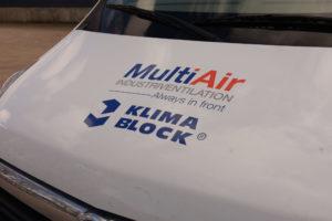 multiair klimablock udsugning