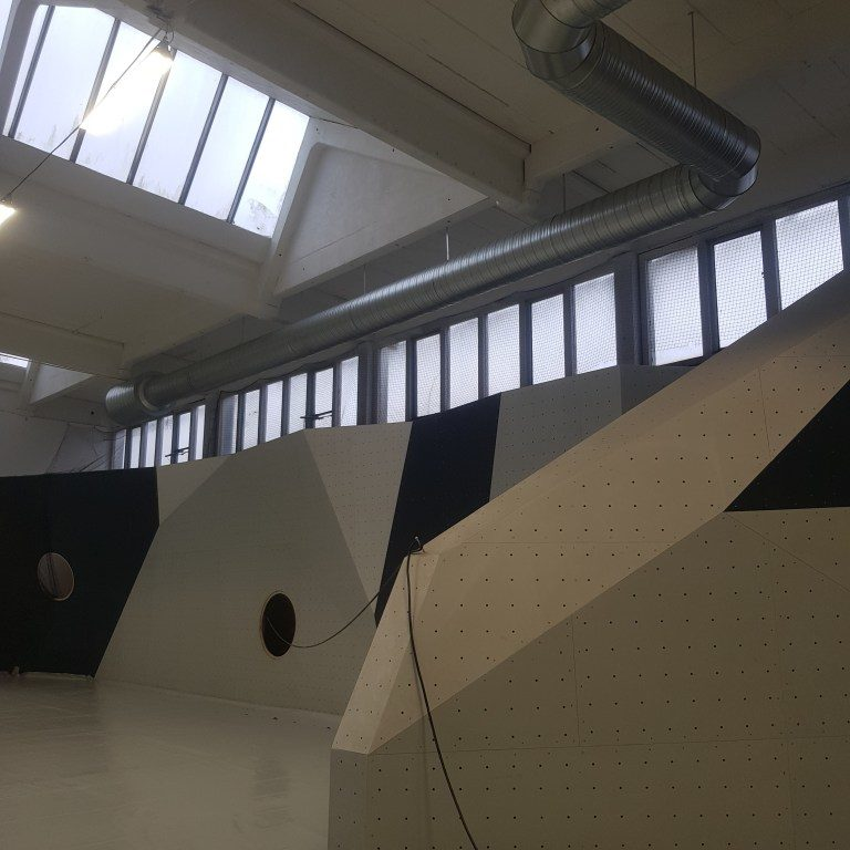 Ventilation in the climbing gym